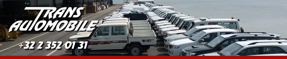 Transautomobile, The export specialist of all makes. Export Toyota, Export Nissan, Export Mitsubishi, Export Land Rover