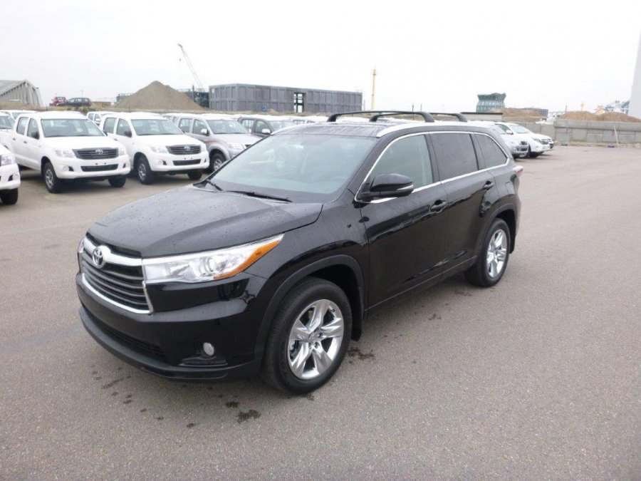 Export TOYOTA Highlander 4x4  3.5L Petrol Limited