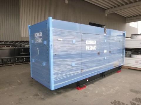 Export Generador Sdmo 550 KVA, Nuevo