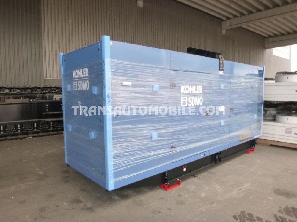Import / export Sdmo  550 KVA Diesel