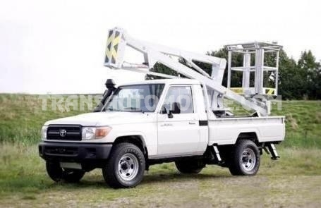 Import / export Toyota Toyota Land Cruiser 79 Pick up Diesel HZJ 79 Double cabin Nacelle  (2016) - Afrique Achat