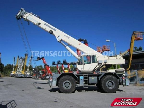 Import / export Terex Bendini Terex Bendini A600 60 T Gasóleo   - Afrique Achat