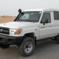 TOYOTA Land Cruiser 4x4 78 Metal top 4.2L Diesel blindé/armoured BR6 transport de fond/cash in transit