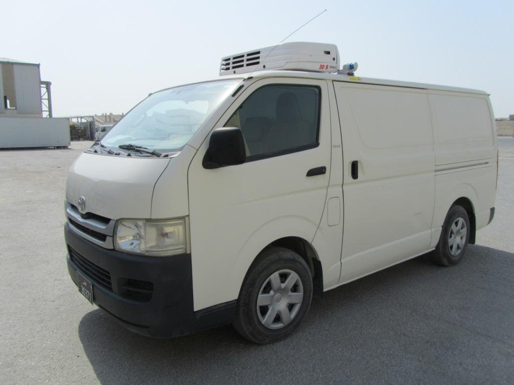 Export TOYOTA Hiace Minibus  2.5L D  Cooling system