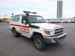 Export Ambulancia Toyota Land Cruiser, Nuevo