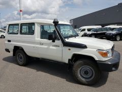 Toyota Land Cruiser 78 Metal top - RHD