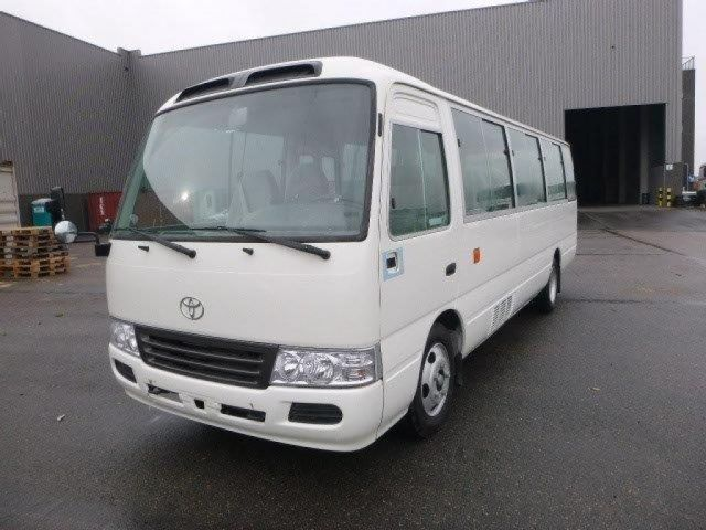 Export TOYOTA Coaster Bus 30 Seats 4.2L Diesel Semi Luxury Semi Luxury
