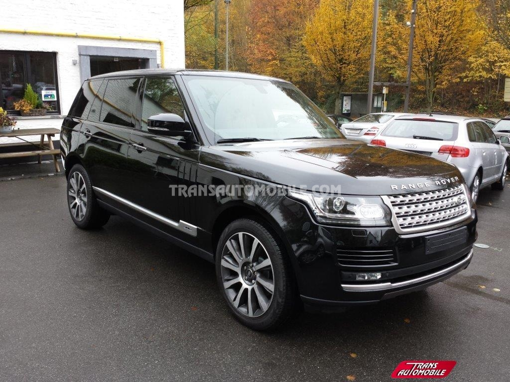 land rover range rover long wheel base 5 0l v8 supercharged autobiography neuf exportation 4x4. Black Bedroom Furniture Sets. Home Design Ideas