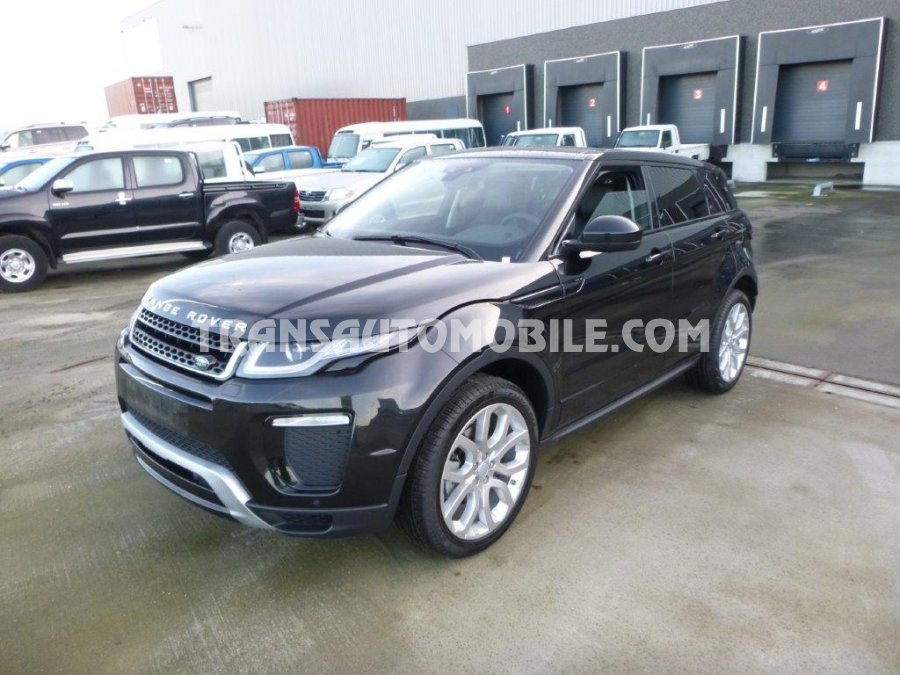 prix land rover range rover evoque land rover afrique export 1596. Black Bedroom Furniture Sets. Home Design Ideas