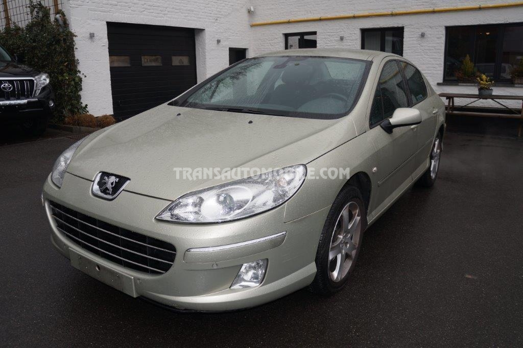 Peugeot 407 Export