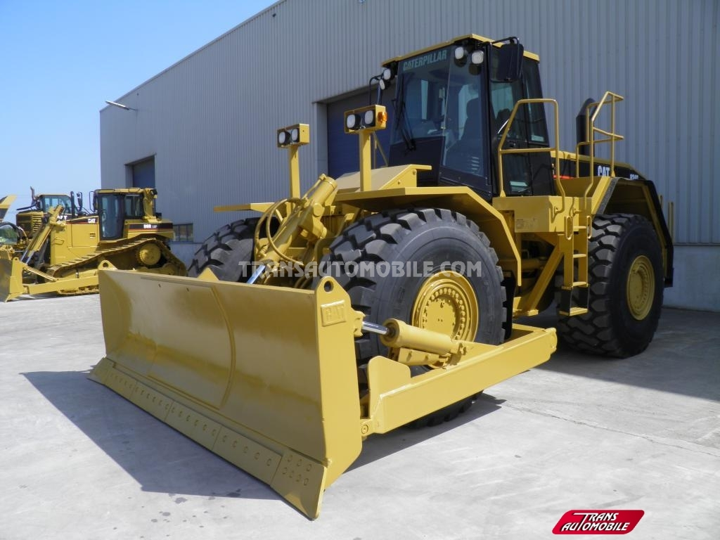 Import / export Caterpillar  824G II Diesel Automatique