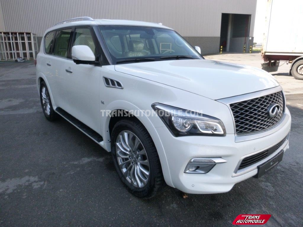 prix infiniti qx80 essence v8 luxury infiniti afrique export 1712. Black Bedroom Furniture Sets. Home Design Ideas