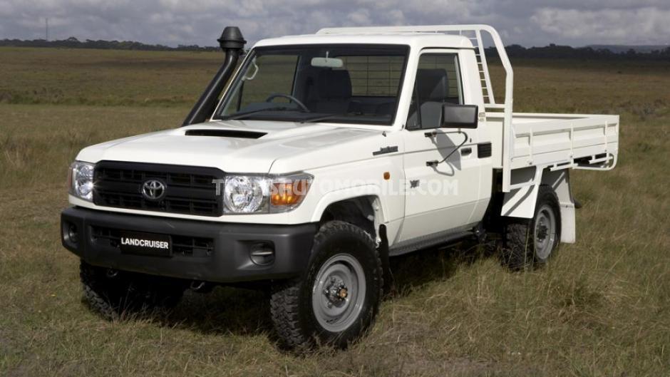 prix toyota land cruiser 79 pick up turbo diesel v8. Black Bedroom Furniture Sets. Home Design Ideas