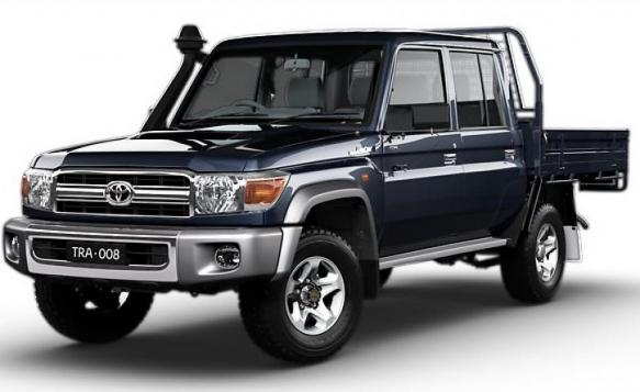 Export TOYOTA Land Cruiser Pick Up 4x4 79 Pick up 4.5L V8 TD GXL