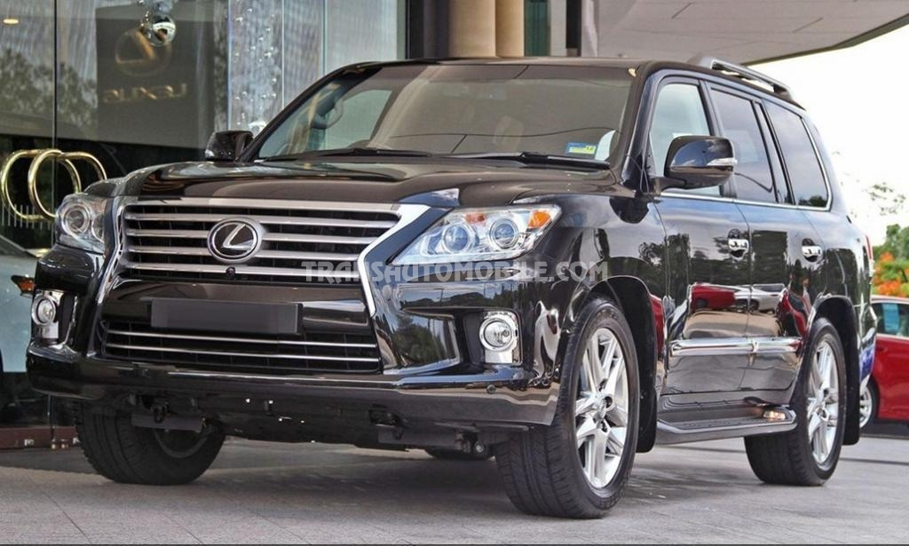 prix lexus lx 570 lexus afrique export 1741. Black Bedroom Furniture Sets. Home Design Ideas