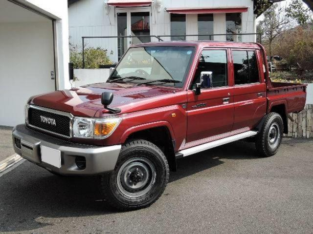 TOYOTA Land Cruiser Pick Up 4x4 79 Pick up 4.0L V6 GRJ  V6 GRJ