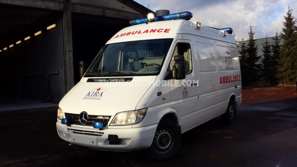 prix ambulances mercedes 316 sprinter mercedes afrique export 1756. Black Bedroom Furniture Sets. Home Design Ideas