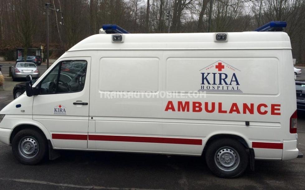 56e801c4b6 Price Ambulances Mercedes 316 Sprinter Diesel - Mercedes Africa Export -  1756