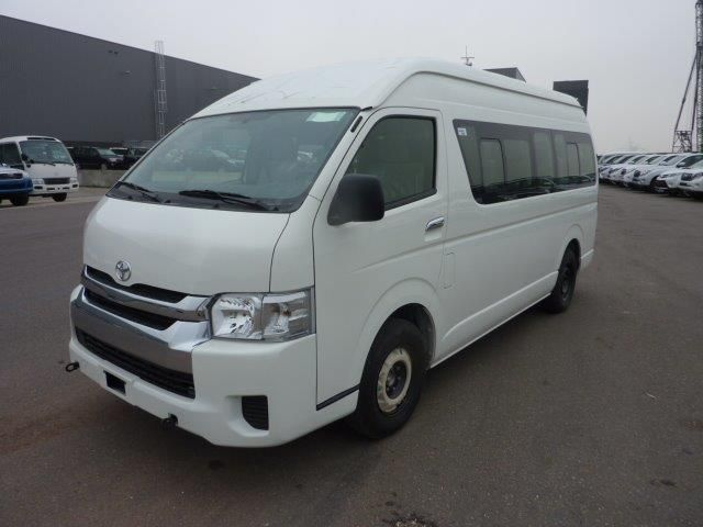 Export TOYOTA Hiace Minibus HIGH ROOF / TOIT HAUT 2.5L D4D HIGH ROOF  LONG WHEELBASE ABS-AB