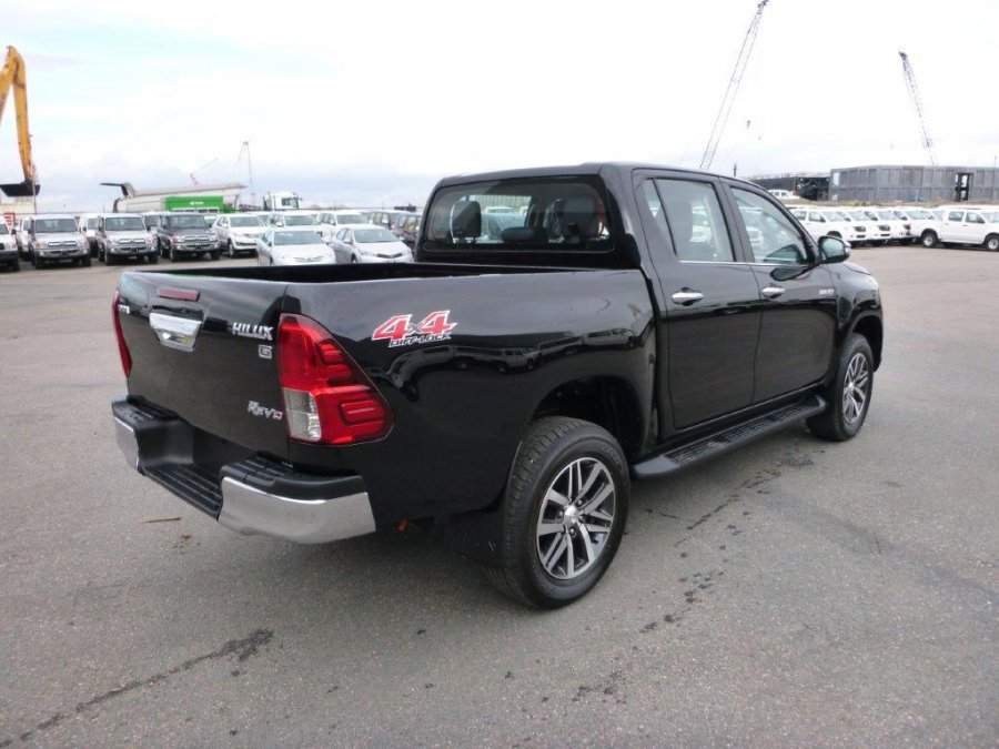 toyota hilux revo pick up double cabin double cabine. Black Bedroom Furniture Sets. Home Design Ideas