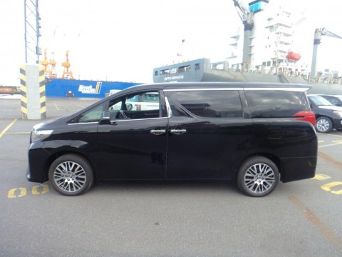 Export Toyota Alphard