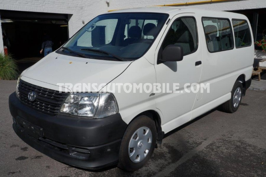 Import / export Toyota Toyota Hiace 2008-2013 Diesel   - Afrique Achat