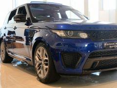 Land Rover Range Rover Sport SVR Benzine  - RHD