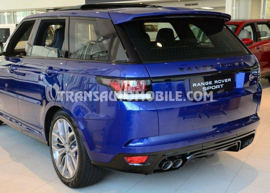 Land Rover Range Sport Svr Petrol V8 Supercharged 550hp 2017 Rhd