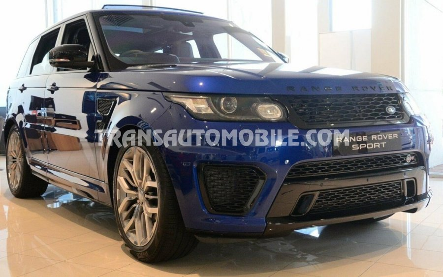 Land Rover - Export advertisements Land Rover Range Rover Sport SVR. New or used - Export Land Rover Range Rover Sport SVR