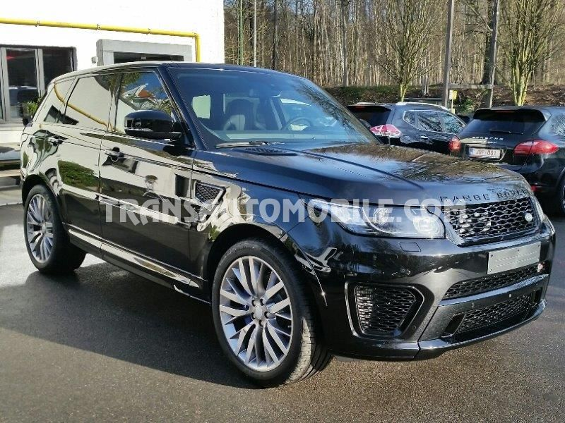 prix land rover range rover sport svr v8 supercharged. Black Bedroom Furniture Sets. Home Design Ideas
