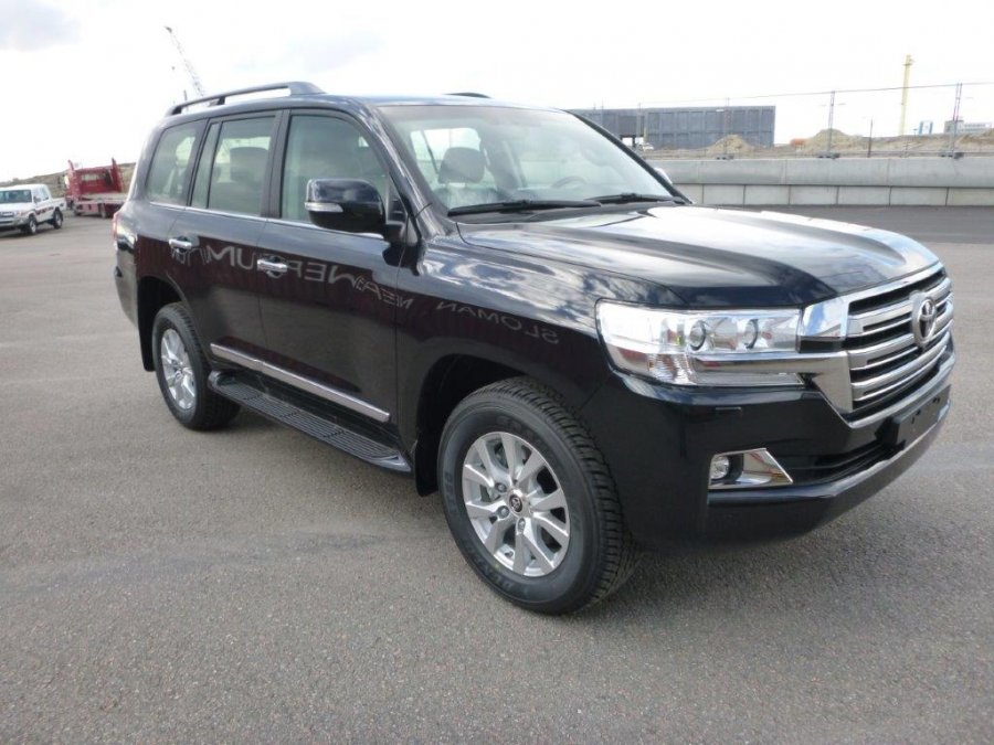 Export TOYOTA Land Cruiser 4x4 200 Station Wagon 4.5L V8 TD  VX8 LIMITED 2016