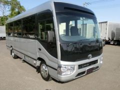Export Toyota - Export advertisements Toyota Coaster 29 seats. New or used -  Export Toyota Coaster 29 seats