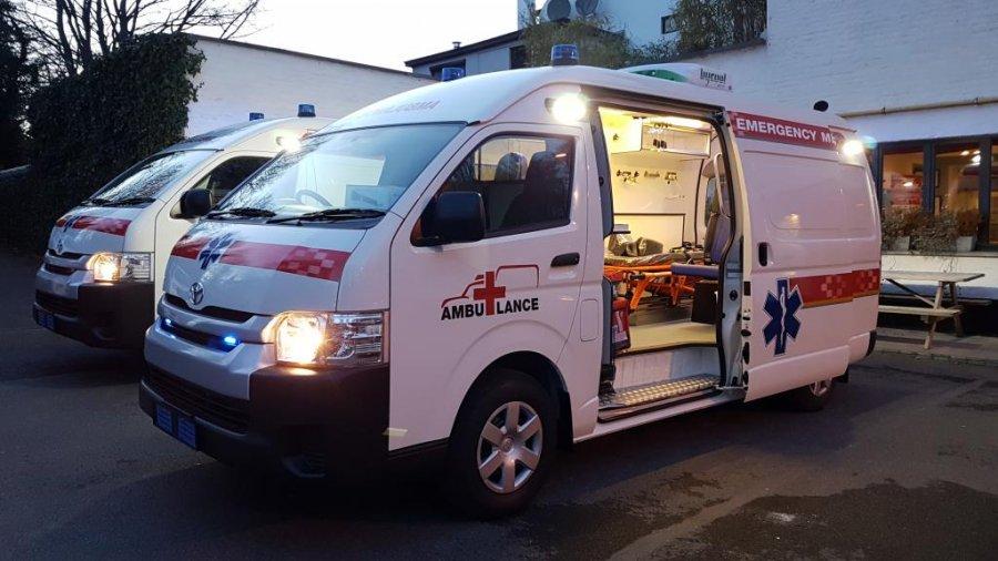 Export TOYOTA Hiace Ambulance  2.5L TD  AMBULANCE