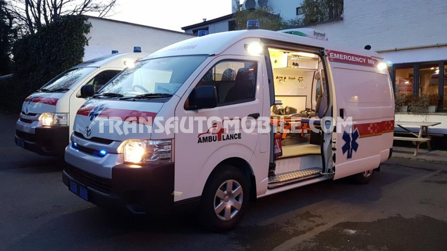 Import / export Toyota Toyota Hiace  Turbo Diesel  Ambulance  - Afrique Achat