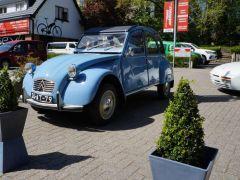 Export Classic Car Citroën 2CV, Second hand