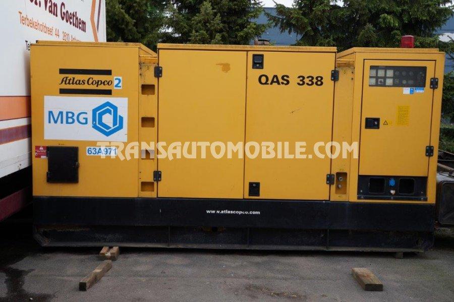 Import / export Atlas Copco Atlas Copco QUAS338 300 KVA Diesel   - Afrique Achat