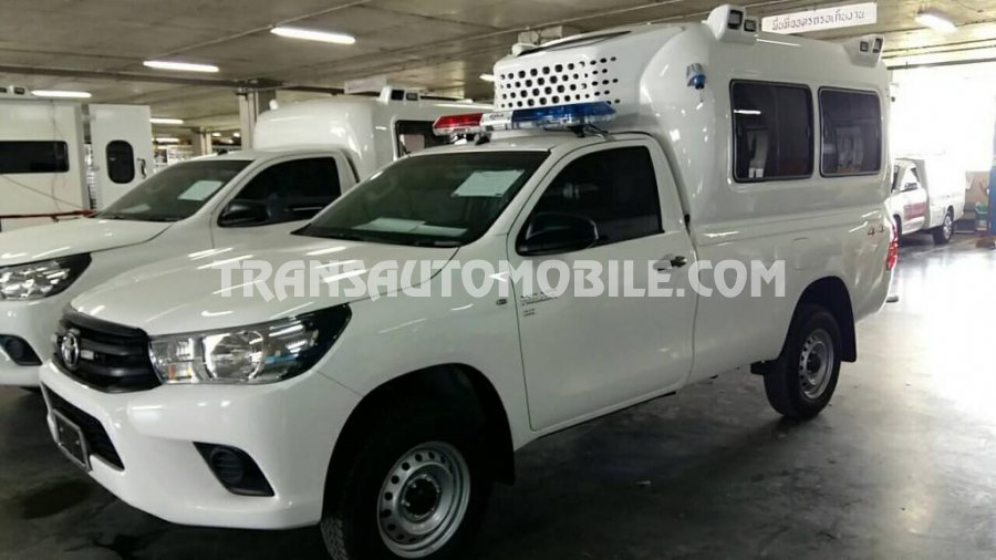 Import / export Toyota Toyota Hilux/REVO Pickup single Cab Turbo Diesel Ambulance  - Afrique Achat