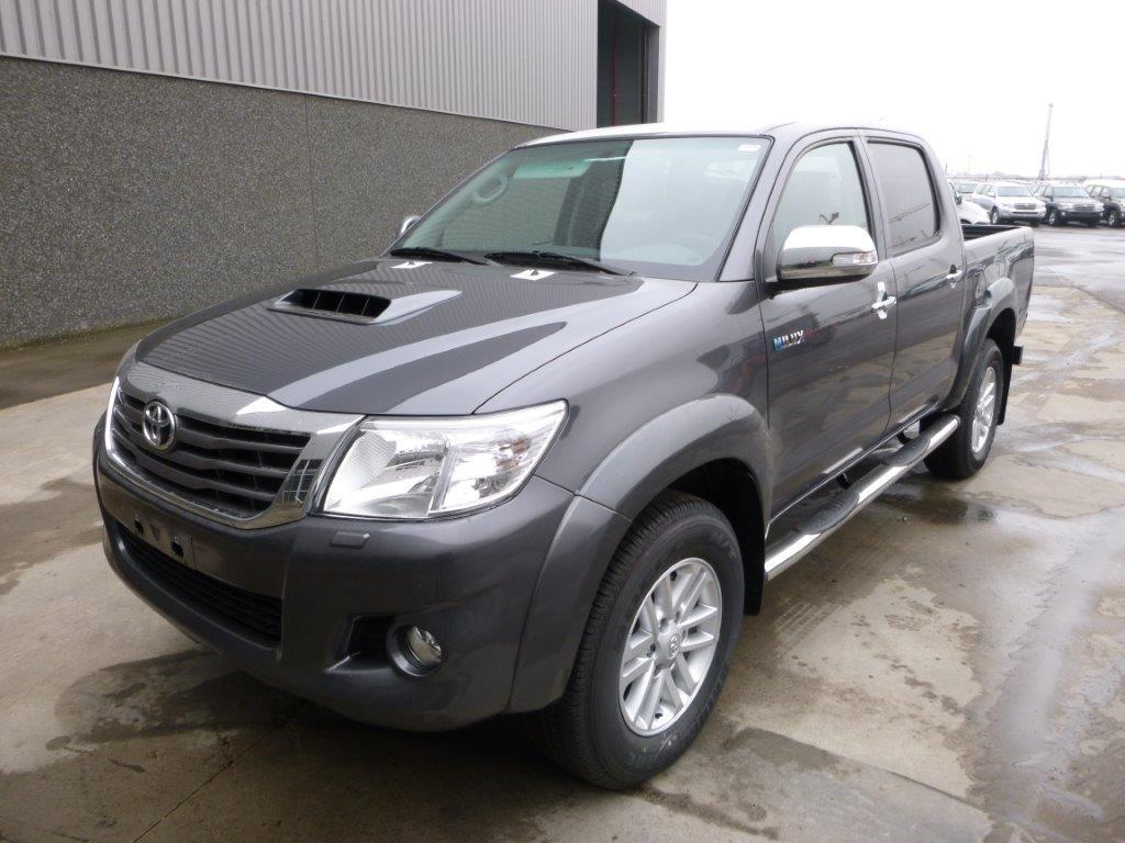 toyota hilux vigo pick up double cabine double cabine neuf ref 202. Black Bedroom Furniture Sets. Home Design Ideas