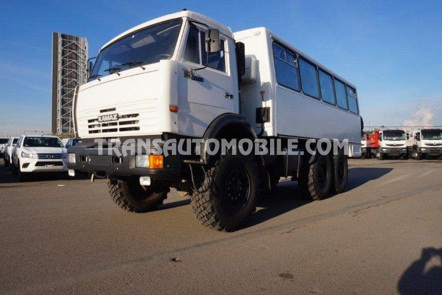 Import / export Kamaz Kamaz 4208 43.114 Diesel  BUS PERSONNAL CARRIER TRUCK  (2017) - Afrique Achat