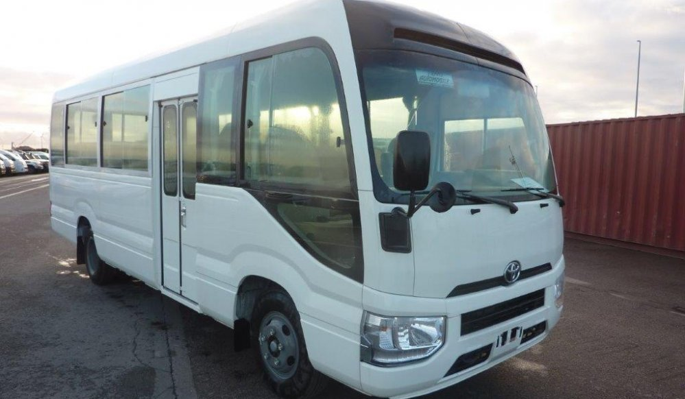 Export TOYOTA Coaster Bus 23 SEATS 4.2L  Luxe