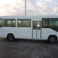 Toyota Coaster 23 SEATS Diesel  base  (2017)