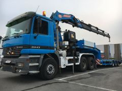Export Mercedes ACTROS 3343