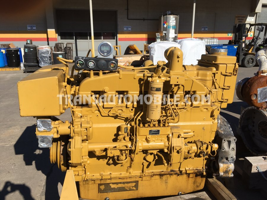 Caterpillar 3406B  Diesel  MOTEUR MARIN - MARINE ENGINE - keel cooling