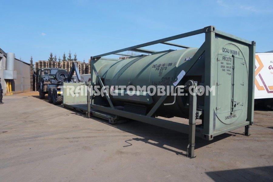 BSLT Citerne à eau 9600 L Diesel   - 2 x 4800 L