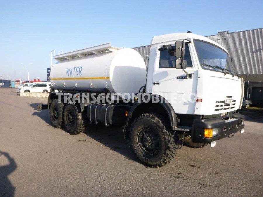 Export camion-citerne à eau Kamaz 66065, Neuf
