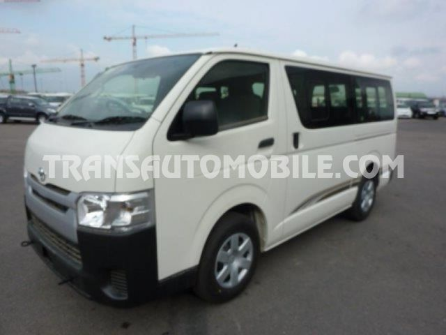 Export 0 à 15 places Toyota Hiace, Neuf