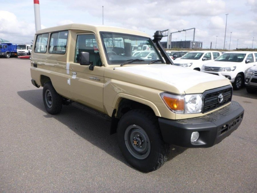 Export TOYOTA Land Cruiser Station Wagon 78 Metal top 4.2L   HZJ78 GRJ78