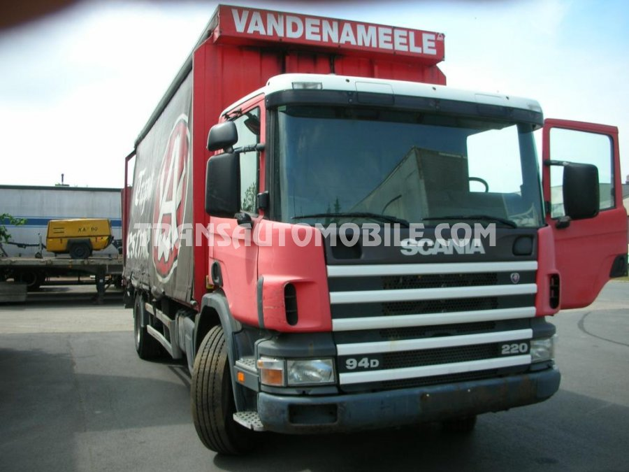 Export Plateau ridelle Scania P94, Occasion