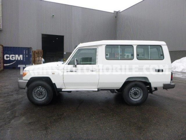 Import / export Toyota Toyota Land Cruiser 78 Metal top Turbo Diesel VDJ V8  - Afrique Achat
