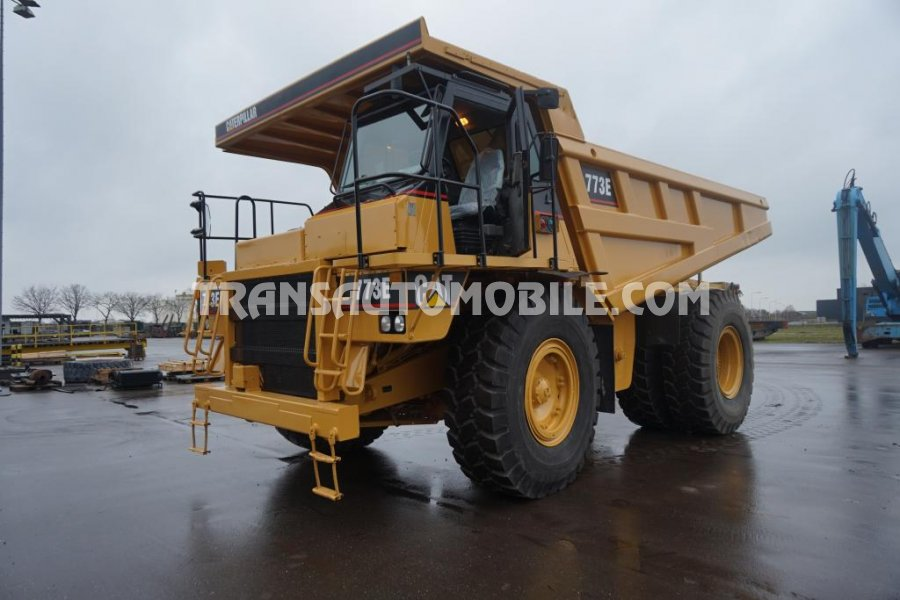 Import / export Caterpillar  773E 27.0L Diesel Automatique